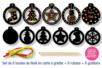 Cartes à gratter boules de Noël + accessoires - 6 boules - Carte à gratter - 10doigts.fr