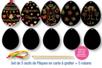 Cartes à gratter Oeufs de Pâques - Lot de 5 - Cartes à gratter - 10doigts.fr