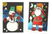 Cartes de Noël à métalliser - Set de 3 - Nouveautés de Noël 2021 – 10doigts.fr