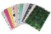 Cartes fortes avec effets métallisés - Set de 12 - Décorations Printemps - Eté - 10doigts.fr