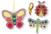Insectes carte à sabler - Set de 8 - Sables colorés – 10doigts.fr