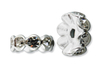 """Shamballas... avec des perles en pâte polymère millefioris + Charm's argentés circulaires avec strass """"diamant"""" incrustés - Tutos créations de Bijoux – 10doigts.fr"""