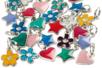 Set de 20 charm's en métal - Perles intercalaires - 10doigts.fr