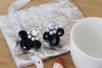 Clips d'oreille argentés - Lot de 4 - Boucles et pendentifs d'oreilles – 10doigts.fr
