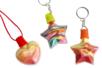 Kit porte clefs et pendentifs à remplir - 6 flacons - Porte-clefs, Anneaux, Mousquetons – 10doigts.fr