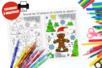 Coloriage de Noël + jeu des 10 erreurs - Carterie – 10doigts.fr