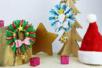 Couronne de Noël en laine - Noël – 10doigts.fr
