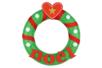 """Lettres """"Noël"""" en bois décoré rouges et vertes - Set de 8 lettres - Motifs peints – 10doigts.fr"""