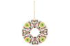 Couronne de Noël Mandalas à colorier + strass - Coloriages – 10doigts.fr