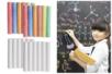 Craies blanches et couleurs - 24 craies - Craies, tableaux, ardoises - 10doigts.fr