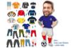 Crazy Look Stickers - 48 stickers - Gommettes Histoires et décors – 10doigts.fr