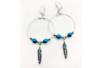 Boucles créoles d'oreilles argentées - Lot de 6 - Boucles et pendentifs d'oreilles – 10doigts.fr