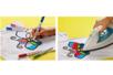 Marqueurs textiles pointe fine - 10 couleurs - Feutres Marqueurs Textiles – 10doigts.fr