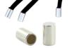 Embouts tubulaires en métal - Lot de 12 - Cache-noeud – 10doigts.fr