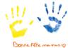 Tableau empreinte de la main - Tutos Fête des Mères – 10doigts.fr