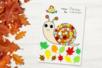 Coloriage et collage escargot - Activités enfantines – 10doigts.fr