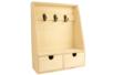 Etagère porte-clés en bois - Armoires et étagères – 10doigts.fr