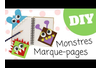 Les petits monstres marque-page - Tutos Halloween – 10doigts.fr