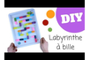 Labyrinthe à bille - Activités enfantines – 10doigts.fr