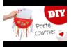 Porte-courrier avec des assiettes en carton - Fête des Mères – 10doigts.fr