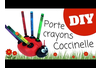 Porte-crayons Coccinelle - Activités enfantines – 10doigts.fr