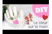 """Vide-poches """"Coeur sur la main"""" - Fête des Mères – 10doigts.fr"""