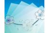 Feuille de PVC translucide (Polyphane) - 33 x 43 cm - Feuilles en plastique - 10doigts.fr