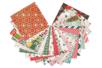 Bloc papier de Noel - 20 feuilles  - Papiers motifs fêtes – 10doigts.fr