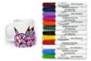 Marqueurs peinture pour Verre, Porcelaine, Métal - Peinture Verre et Faïence - 10doigts.fr