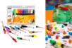 Marqueurs gouache Pébéo - 12 couleurs - Marqueur peinture gouache – 10doigts.fr
