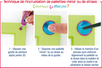 Stylos de peinture 3D, 6 couleurs nacrées - 10,5 ml - Stylos peinture 3D – 10doigts.fr