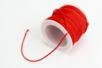 Cordons polyester queue de rat - 10 bobines de 50 m - Fils en Satin et queue de rat – 10doigts.fr