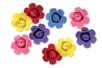 Fleurs en mousse adhésive - Set de 9 - Décorations à coller – 10doigts.fr