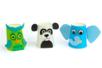 Kit créatif fabrication Gobelets Animaux - 24 gobelets - Kits activités Marionnettes et Pantins – 10doigts.fr