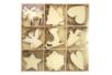Suspensions de Noël en bois - 36 pièces - Suspensions et boules de Noël – 10doigts.fr