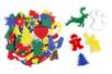 Formes feutrine de Noël - 170 motifs à coller - Feutrine, feutre, toile de jute – 10doigts.fr