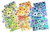 Gommettes art abstrait - 18 planches - Toutes les gommettes géométriques - 10doigts.fr