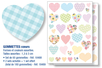 Gommettes coeurs - Stickers, gommettes coeurs - 10doigts.fr