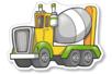 Gommettes engins de chantier - 2 planches - Gommettes Transports et Métiers – 10doigts.fr