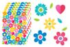 Gommettes Fleurs et coeurs - 320 gommettes - Gommettes Saisons - 10doigts.fr