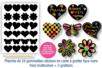 Gommettes-stickers en carte à gratter + 3 grattoirs - Arc-en-ciel – 10doigts.fr