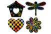 Stickers en carte à gratter thème Printemps - 26 pcs - Cartes à gratter – 10doigts.fr