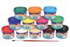 Gouaches en pot - Set de 12 - Peinture gouache liquide – 10doigts.fr