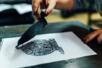 Plaque gomme souple pour Linogravure - Linogravure – 10doigts.fr