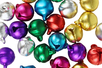 Grelots couleurs assorties - Set de 30 - Grelots et clochettes - 10doigts.fr