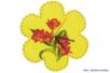 Horloge fleur en bois - Horloges – 10doigts.fr
