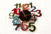 Cadran horloge bois MDF - Horloges en bois – 10doigts.fr