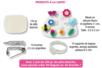 Confection de bijoux avec de la pâte porcelaine blanche - Activités enfantines – 10doigts.fr