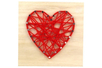 String Art - Kit Coeur - String Art – 10doigts.fr