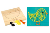 String Art - Kit Poussin - String Art – 10doigts.fr